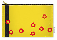 No048 My Kill Bill -part 1 Minimal Movie Poster Carry-all Pouch by Chungkong Art