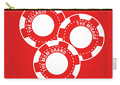 No056 My Oceans 11 Minimal Movie Poster Carry-all Pouch by Chungkong Art