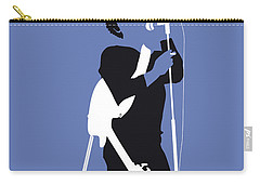 No068 My Lou Reed Minimal Music Poster Carry-all Pouch by Chungkong Art