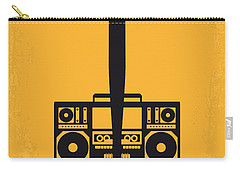 No179 My Do The Right Thing Minimal Movie Poster Carry-all Pouch by Chungkong Art
