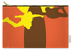 No455 My Point Break Minimal Movie Poster Carry-all Pouch by Chungkong Art
