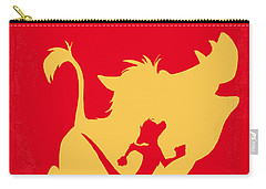 No512 My The Lion King Minimal Movie Poster Carry-all Pouch by Chungkong Art