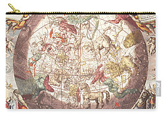 Northern Boreal Hemisphere, From The Celestial Atlas Carry-all Pouch by Andreas Cellarius