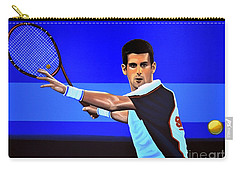 Novak Djokovic Carry-all Pouch by Paul Meijering