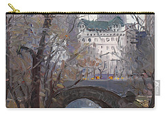 Nyc Central Park Carry-all Pouch by Ylli Haruni
