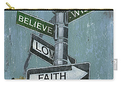 Nyc Inspiration 2 Carry-all Pouch by Debbie DeWitt