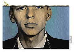 Old Blue Eyes - Frank Sinatra Carry-all Pouch by Bill Cannon