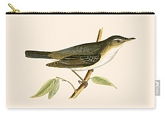 Olive Tree Warbler Carry-all Pouch by English School
