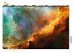 Omega Swan Nebula 3 Carry-all Pouch by The  Vault - Jennifer Rondinelli Reilly