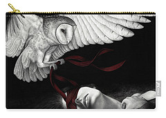 On Silent Wings Carry-all Pouch by Pat Erickson