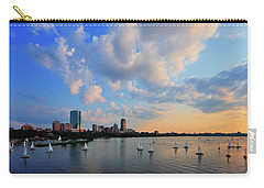 On The River Carry-all Pouch by Rick Berk