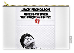 One Flew Over The Cuckoo's Nest Carry-all Pouch by Movie Poster Prints