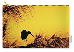 One Of A Series Taken At Mahoe Bay Carry-all Pouch by John Edwards