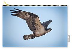 Osprey In Flight Carry-all Pouch by Paul Freidlund