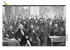 Our Presidents 1789-1881 Carry-all Pouch by War Is Hell Store