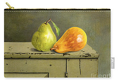 Pair Of Pears Carry-all Pouch by Sarah Batalka