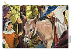 Palm Sunday Carry-all Pouch by Clive Uptton