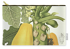 Papaya Carry-all Pouch by Berthe Hoola van Nooten