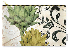 Paris Artichokes Carry-all Pouch by Mindy Sommers