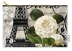 Paris Blanc I Carry-all Pouch by Mindy Sommers