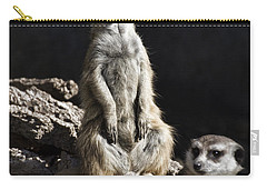 Partners In Crime Carry-all Pouch by Douglas Barnard