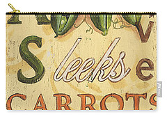 Pea Soup Carry-all Pouch by Debbie DeWitt