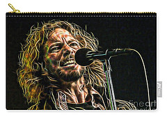 Pearl Jam Eddie Vedder Collection Carry-all Pouch by Marvin Blaine