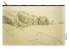 Pele Point, Land's End Carry-all Pouch by Samuel Palmer