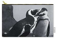Penguins Carry-all Pouch by Sandy Taylor