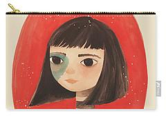 Permanent Contemplation Carry-all Pouch by Carolina Parada