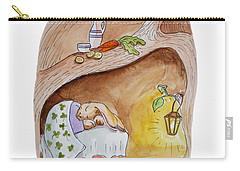 Peter Rabbit  Carry-all Pouch by Irina Sztukowski