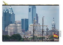 Philadelphia Skyline El Galeon Andalucia Carry-all Pouch by Terry DeLuco