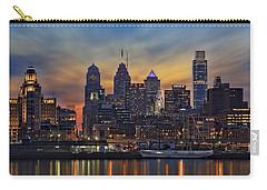 Philadelphia Skyline Carry-all Pouch by Susan Candelario