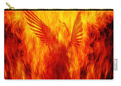 Phoenix Rising Carry-all Pouch by Andrew Paranavitana