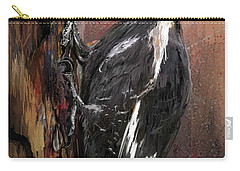 Pileated Woodpecker Art Carry-all Pouch by Lourry Legarde
