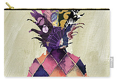 Pineapple Brocade II Carry-all Pouch by Mindy Sommers