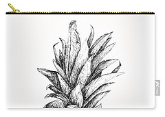 Pineapple Carry-all Pouch by Nancy Ingersoll