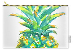 Pineapple Window To The Tropics Carry-all Pouch by Carlin Blahnik