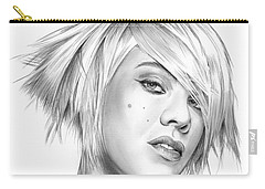 Pink Carry-all Pouch by Greg Joens
