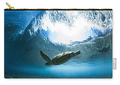 Pipe Turtle Glide Carry-all Pouch by Sean Davey