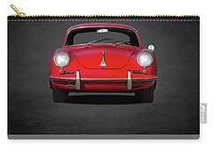 Porsche 356 Carry-all Pouch by Mark Rogan