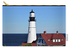 Portland Head Light No. 103 Carry-all Pouch by Sandy Taylor