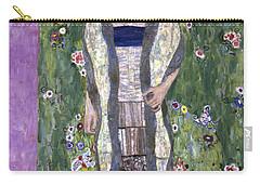 Portrait Of Adele Bloch-bauer II Carry-all Pouch by Gustav Klimt