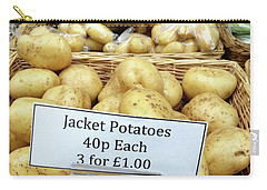 Potatoes At The Market  Carry-all Pouch by Tom Gowanlock