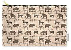 Prehistoric Animals Carry-all Pouch by Antique Images