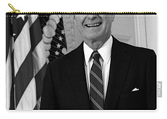 President George Bush Sr Carry-all Pouch by War Is Hell Store