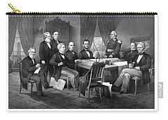 President Lincoln His Cabinet And General Scott Carry-all Pouch by War Is Hell Store