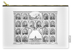 Presidents Of The United States 1776-1876 Carry-all Pouch by War Is Hell Store