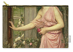Psyche Entering Cupid's Garden Carry-all Pouch by John William Waterhouse