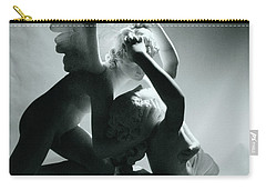 Psyche Revived By The Kiss Of Cupid Carry-all Pouch by Antonio Canova